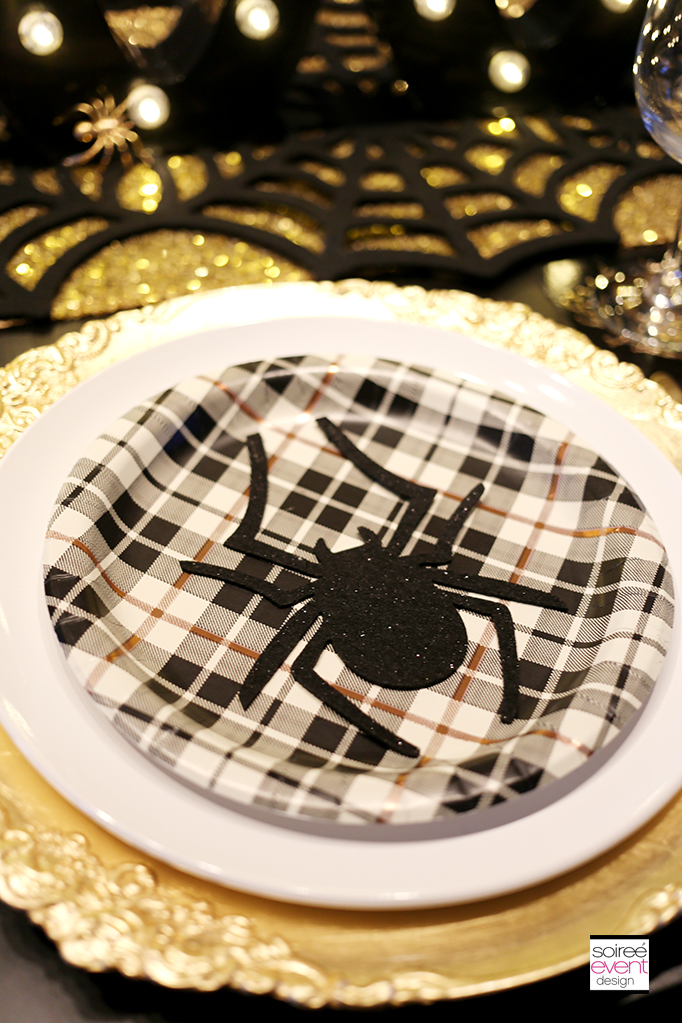 Halloween placesetting