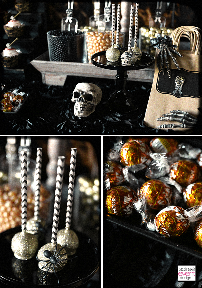 Haunted Farmhouse Halloween party candy