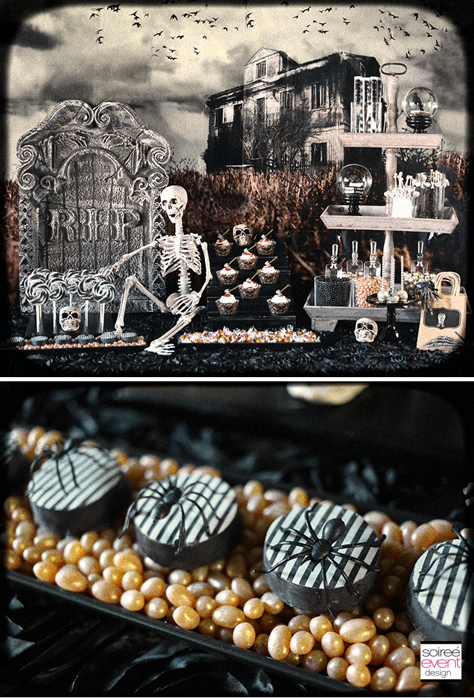 Haunted Farmhouse Party Desserts