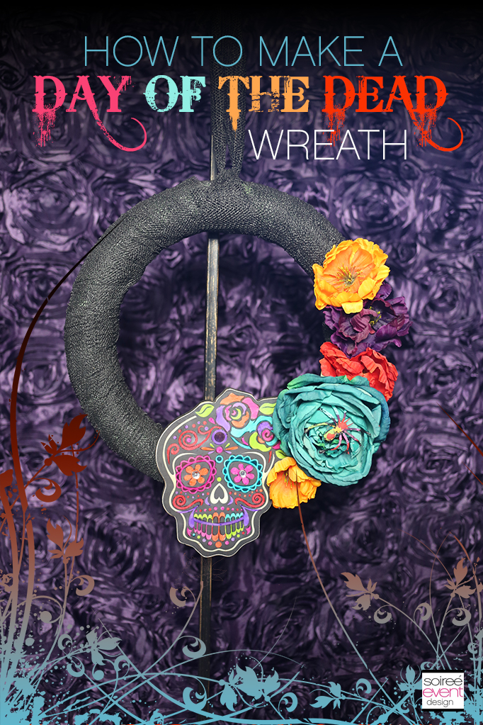 How to Make a Day of the Dead Wreath