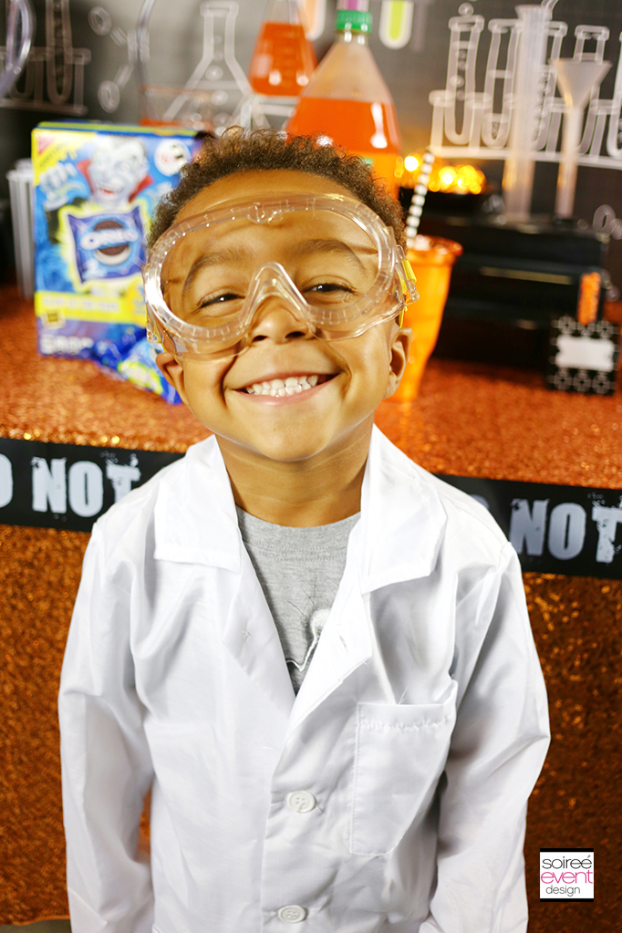 Mad Science party lab coats