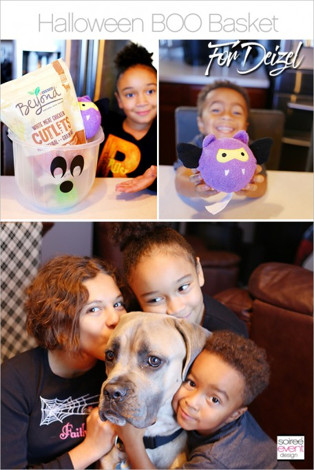 Make a Halloween BOO Basket for your Dog!