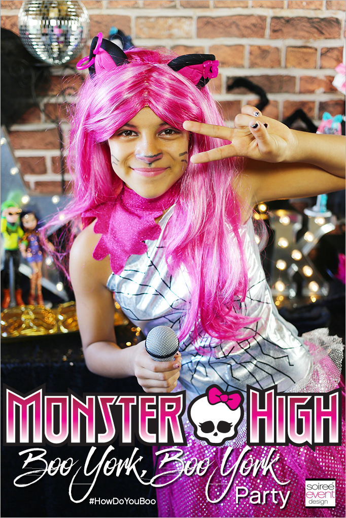 Monster High Party - Boo York, Boo York! - Soiree Event Design