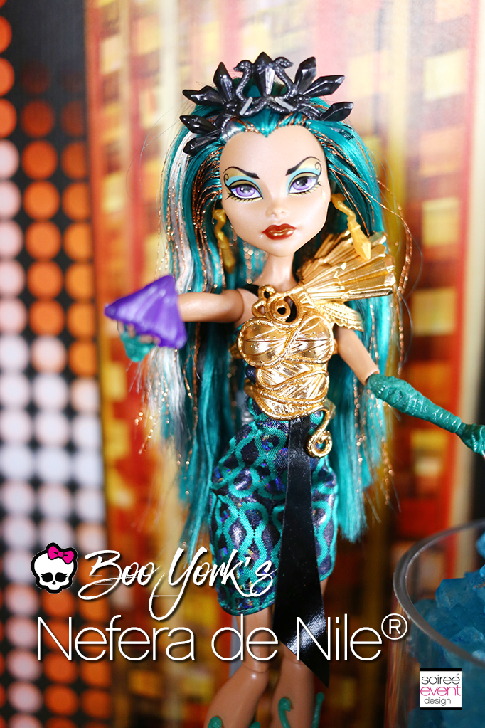 Monster high party boo york boo york soiree event design - Nefera de nile ...