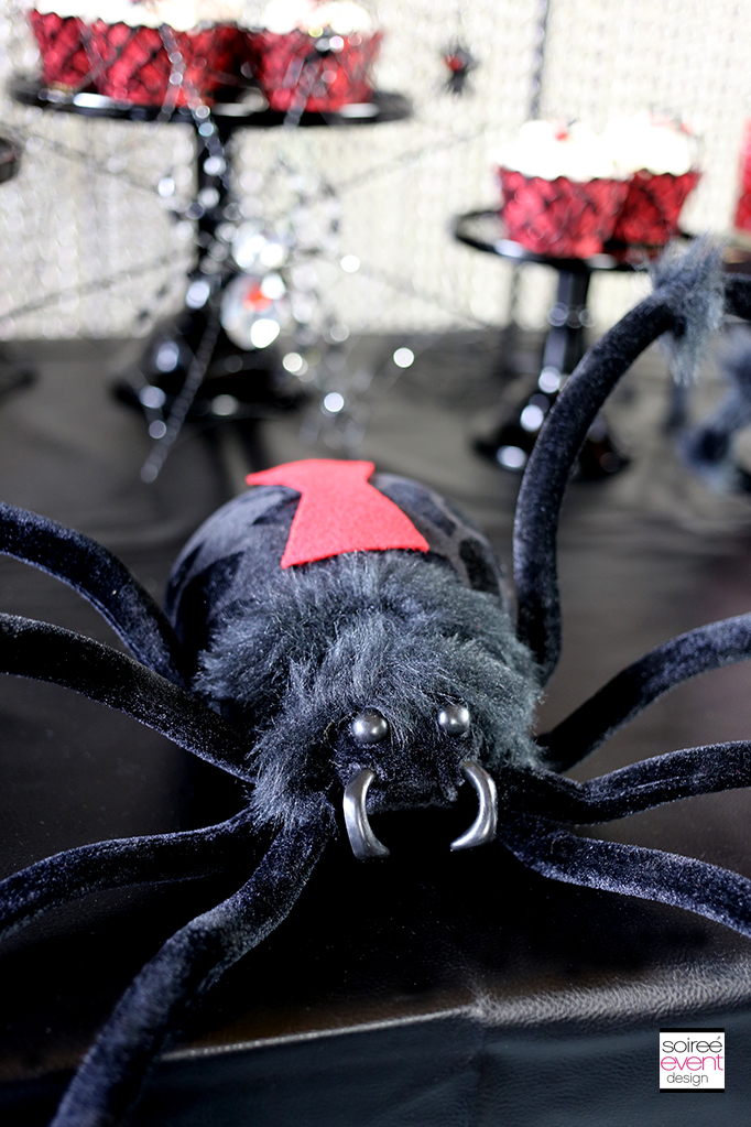 black widow party decorations 2