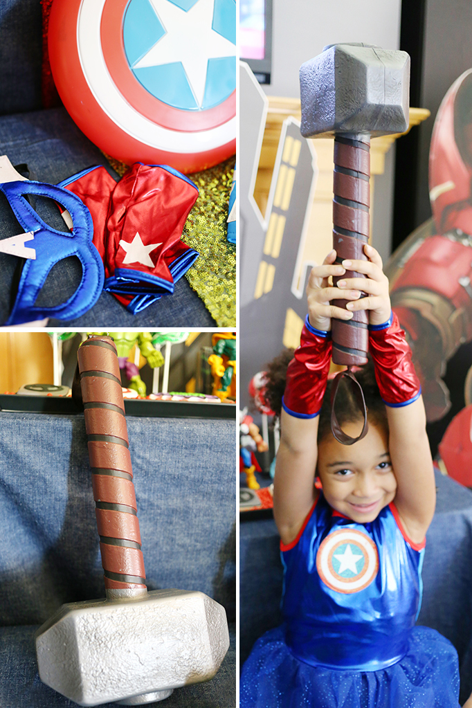 Captain America and Thor Costume
