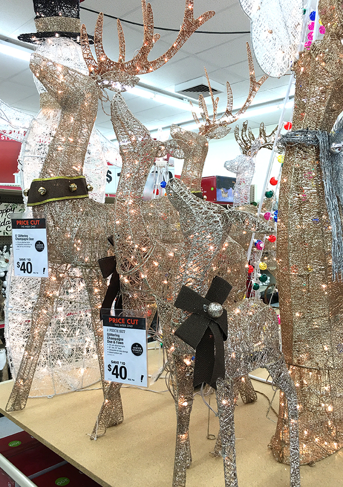 Outdoor Holiday Decor at Big Lots Christmas Reindeer Outdoor decorations ... - Decorate Your Home With Outdoor Holiday Decor From Big Lots