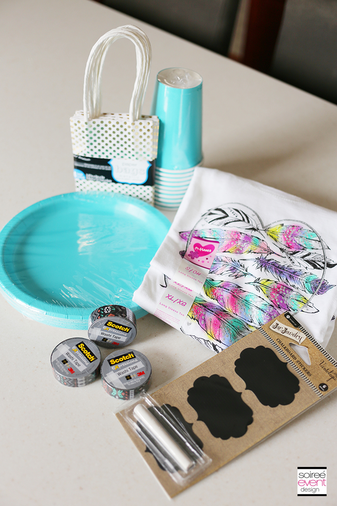 DIY Partyware Supplies
