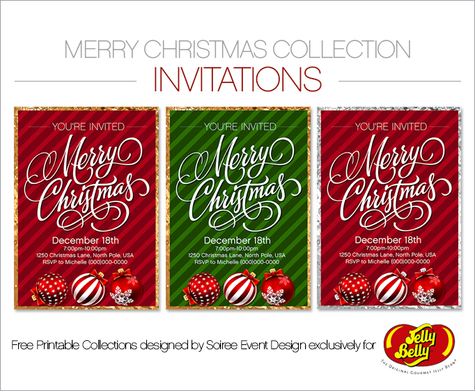 Free Christmas Printable Invitations