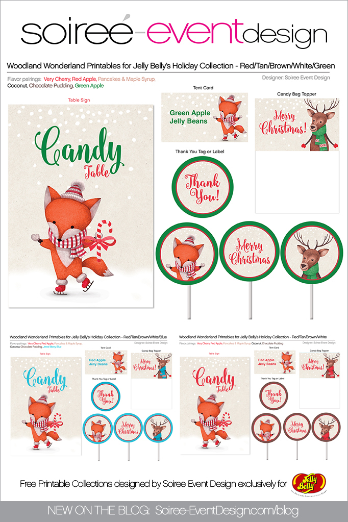 Free Christmas Printables Woodland Wonderland 1