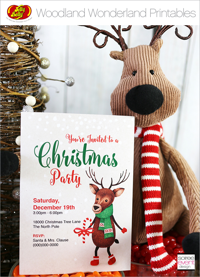 Free Christmas Printables Woodland Wonderland_Main 1