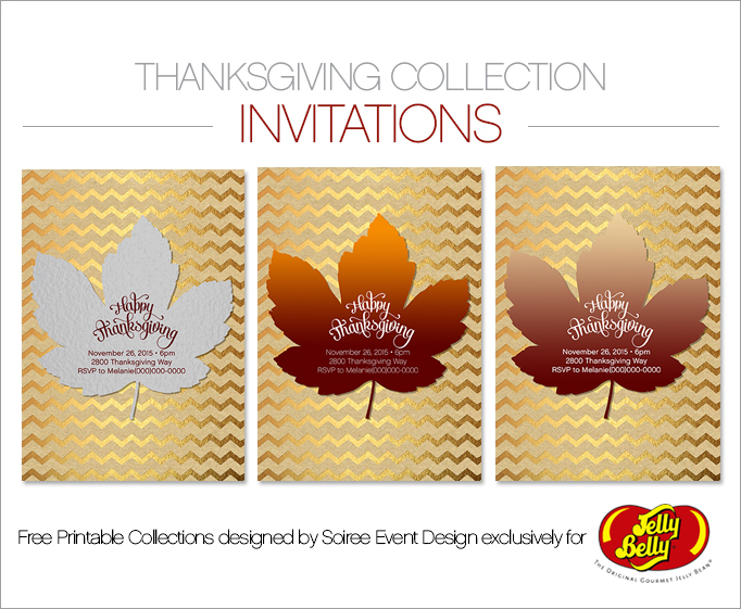 Free Thanksgiving Printable Invitations