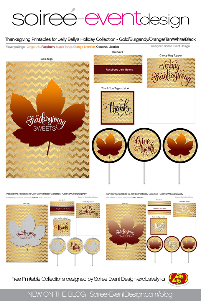 Free Thanksgiving Printables 1
