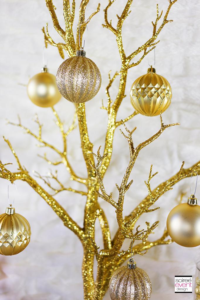 Gold Glitter Tree