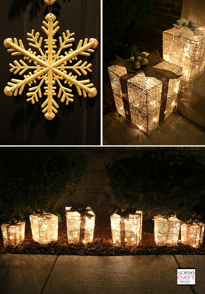 Gold Outdoor Decorations