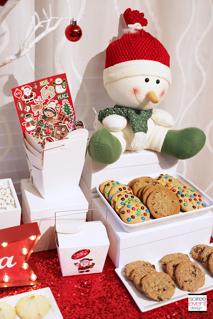 Holiday Cookie Table