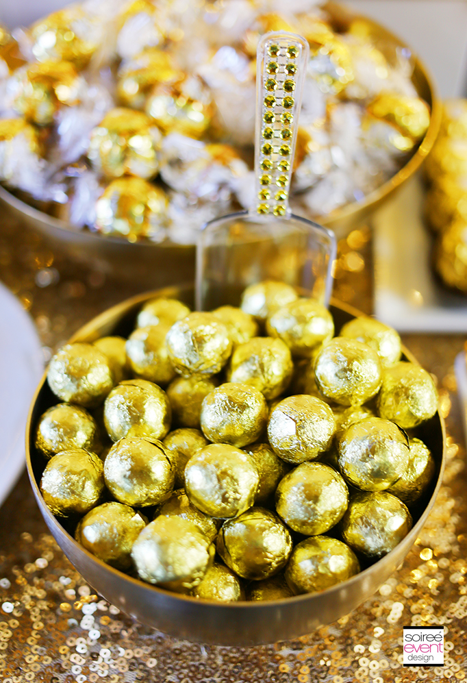 How to Setup a Gold Candy Table 3