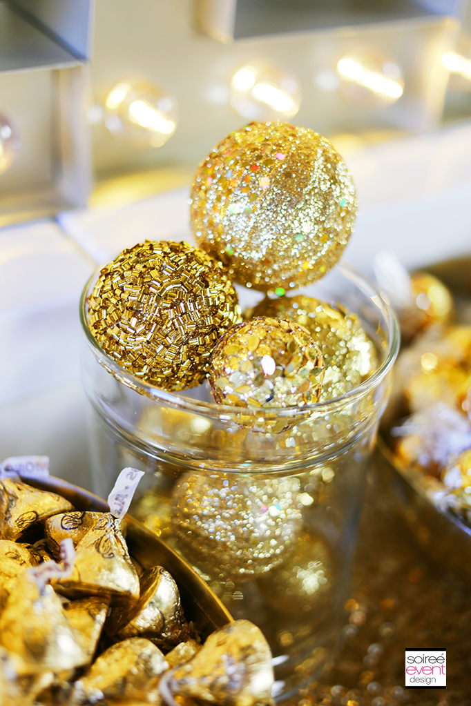 How to Setup a Gold Candy Table 4
