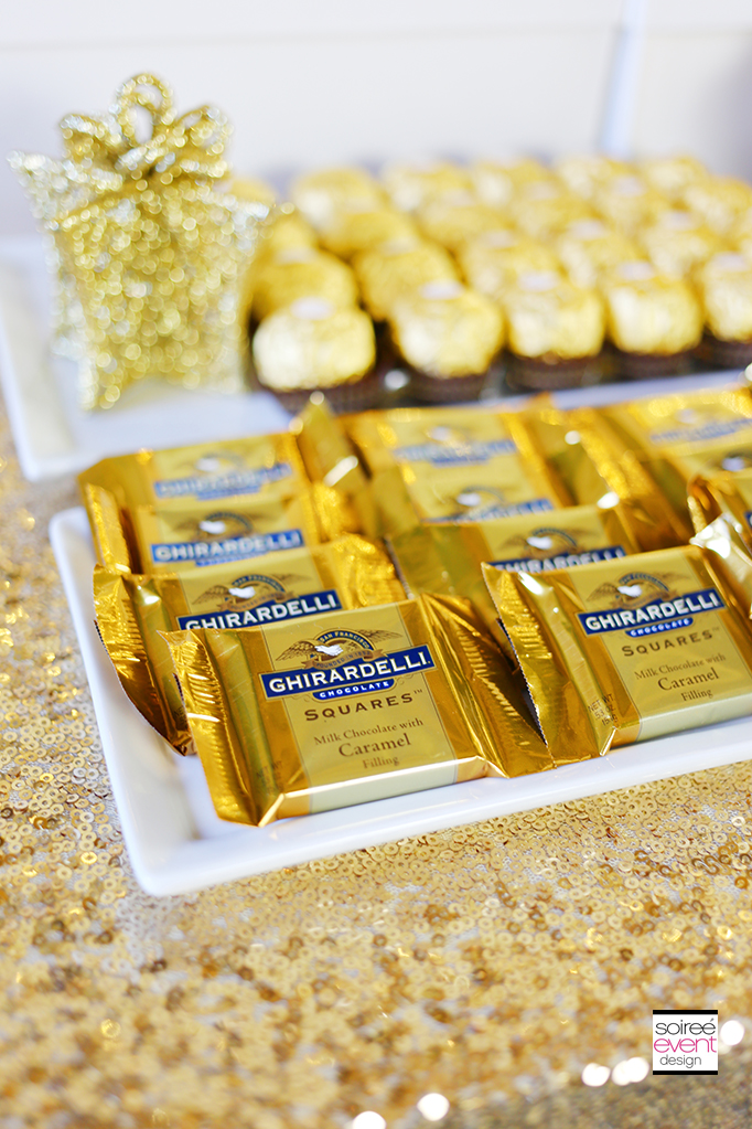 How to Setup a Gold Candy Table 7