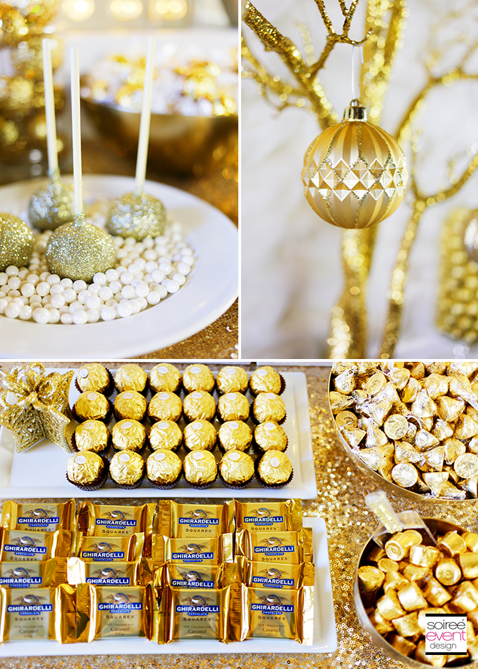 How to Setup a Gold Candy Table 8