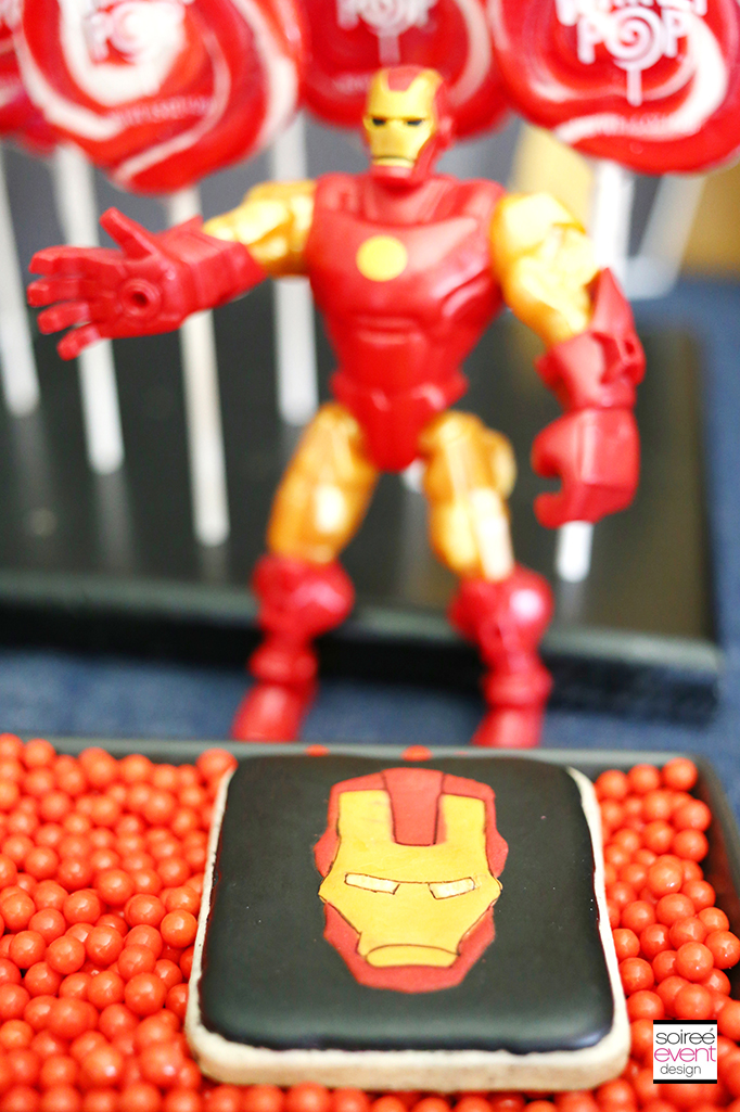 Iron Man Cookies