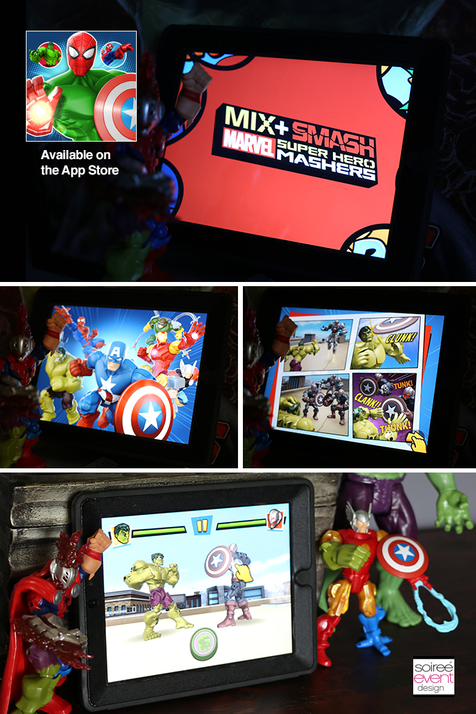 Marvel Mix + Smash Super Hero Mashers App