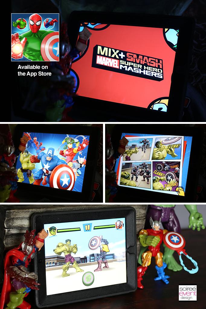 Marvel Mix + Smash Super Hero Mashers App