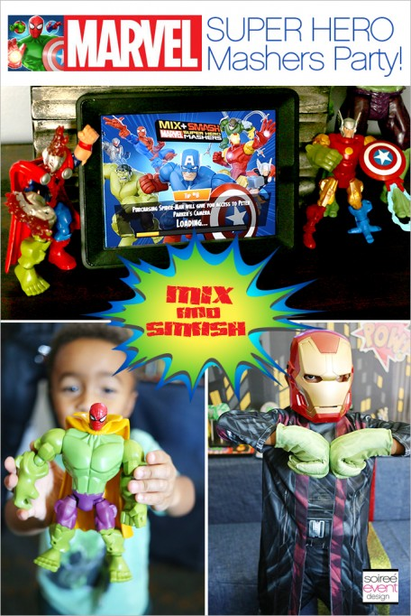 Trend Alert:  Marvel Super Hero Mashers Party!