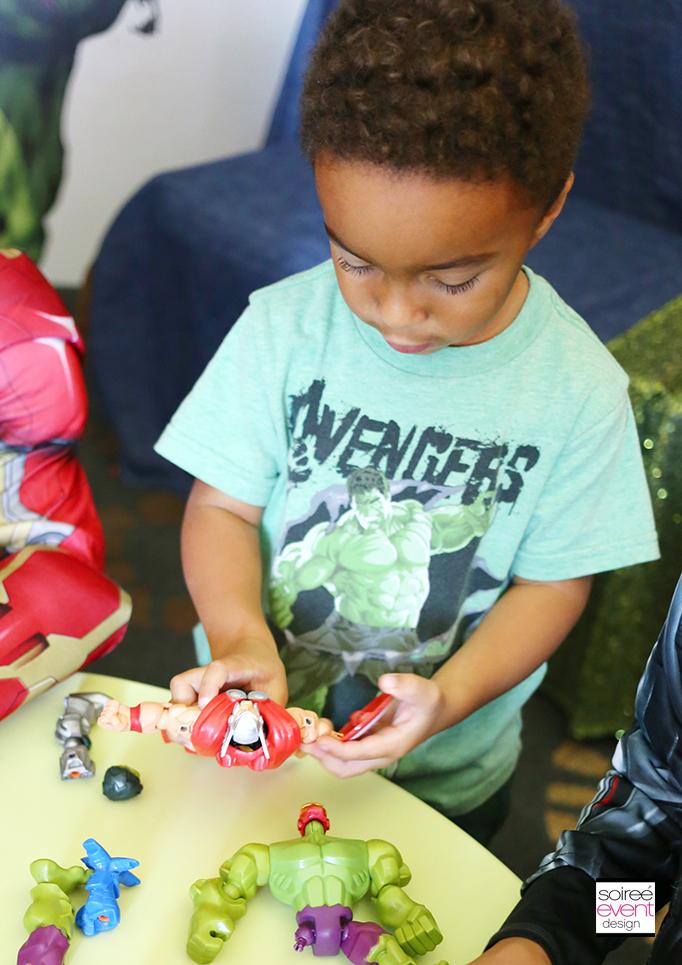 Marvel Super Hero Mashers Party 5
