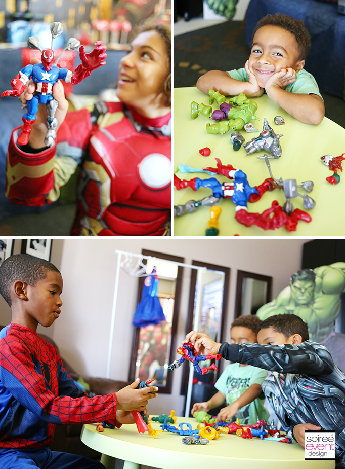 Marvel Super Hero Mashers Party 6