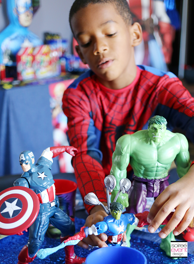 Marvel Super Hero Mashers Party 8