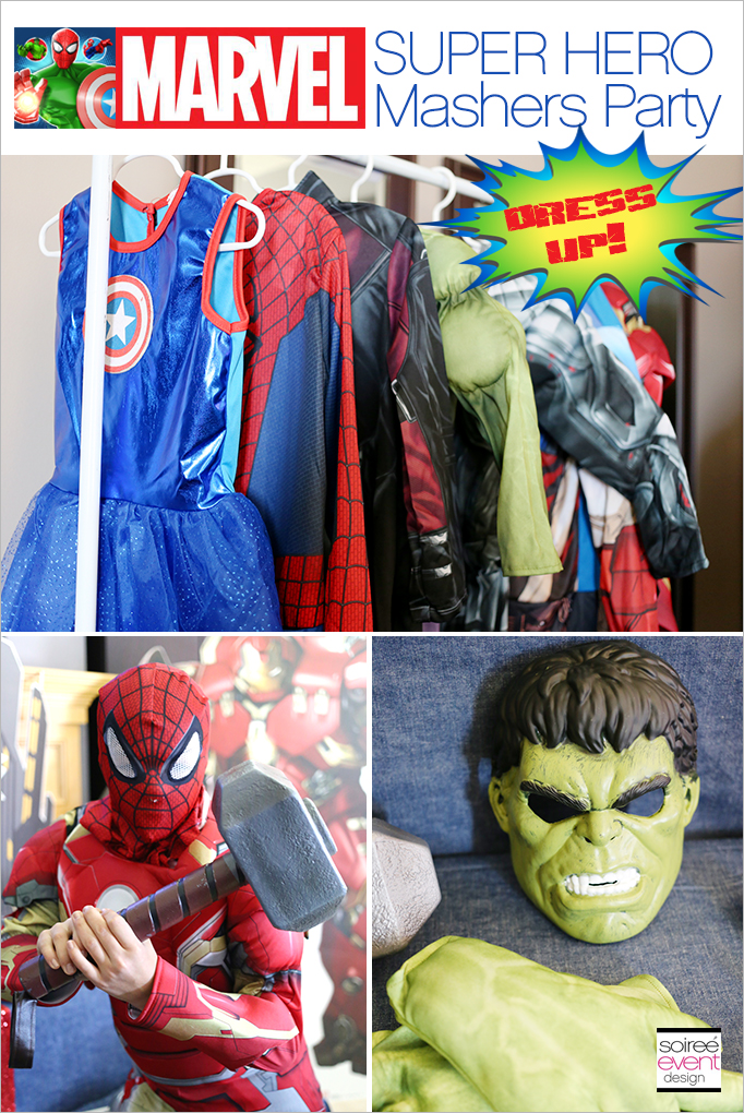 Marvel Super Hero Mashers Party Dress Up