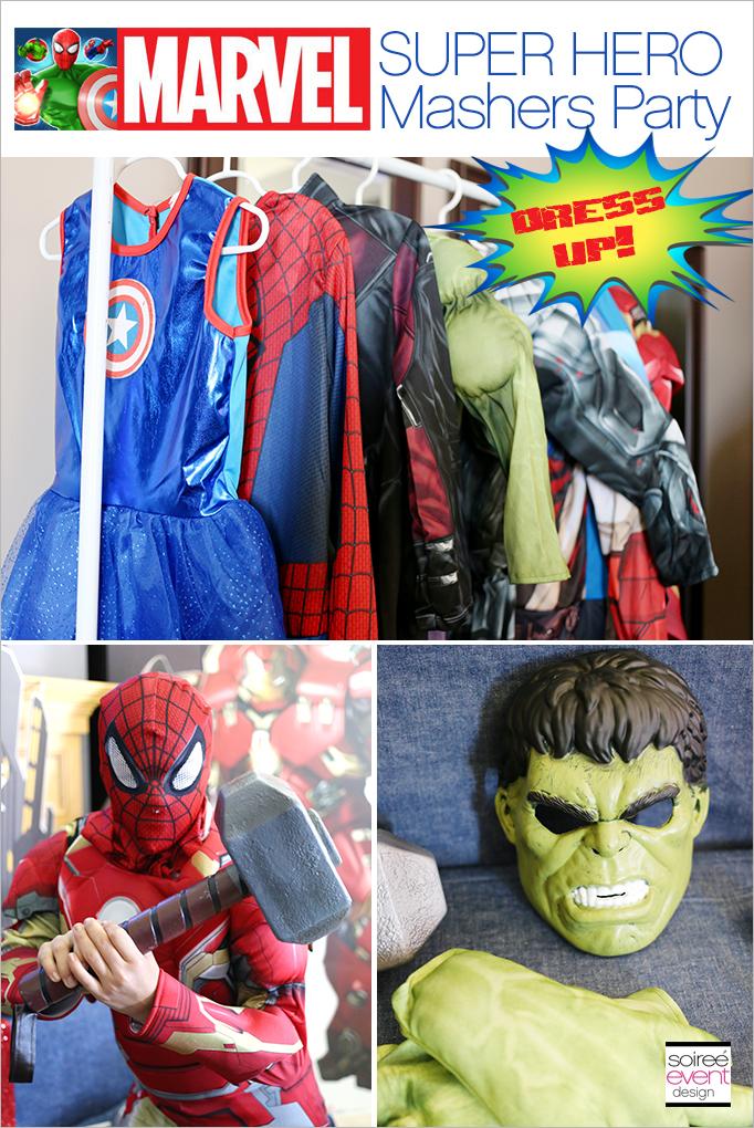Marvel Super Hero Mashers Party Dress Up