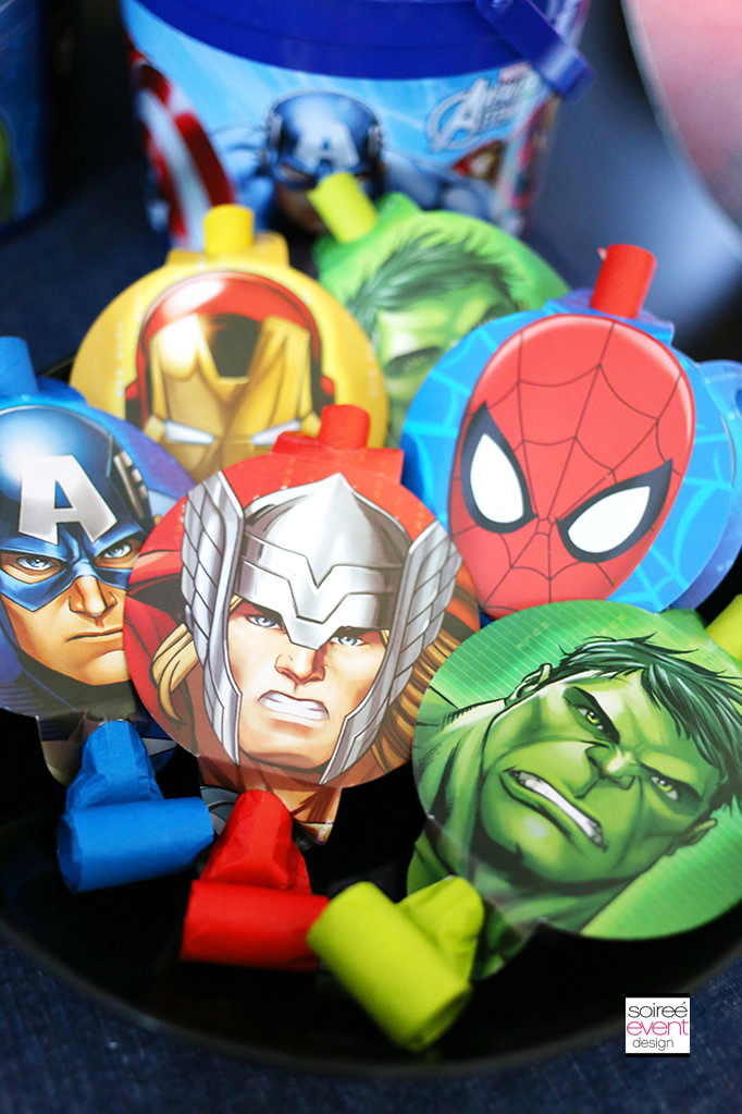 Marvel Super Hero Mashers Party Favors 3