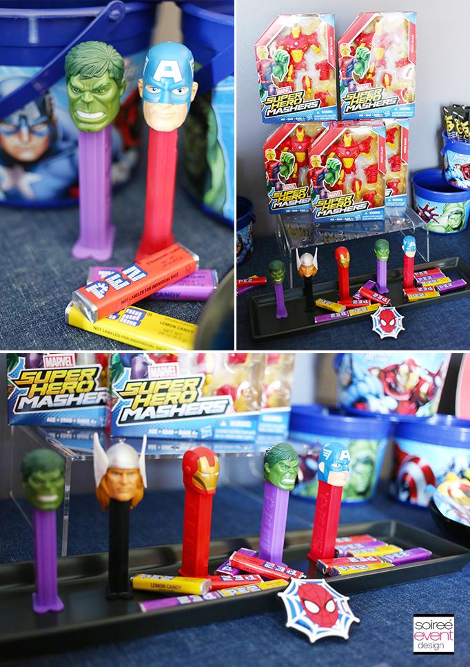 Marvel Super Hero Mashers Party Favors