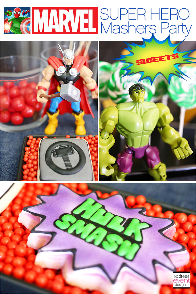 Marvel Super Hero Mashers Party Sweets