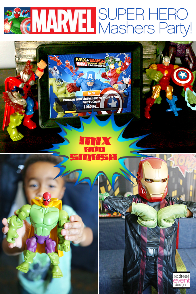 Marvel Super Hero Mashers Party