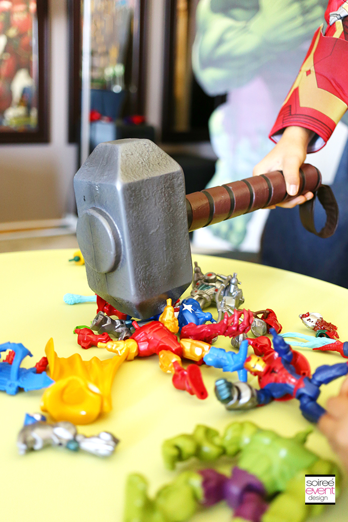 Marvel Super Hero Mashers party 2