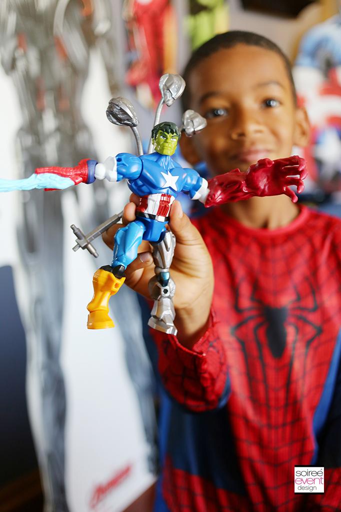 Marvel Super Hero Mashers party 3
