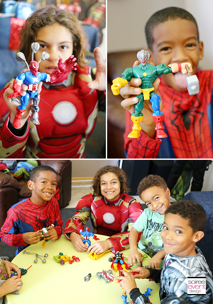 Marvel Super Hero Mashers party 4