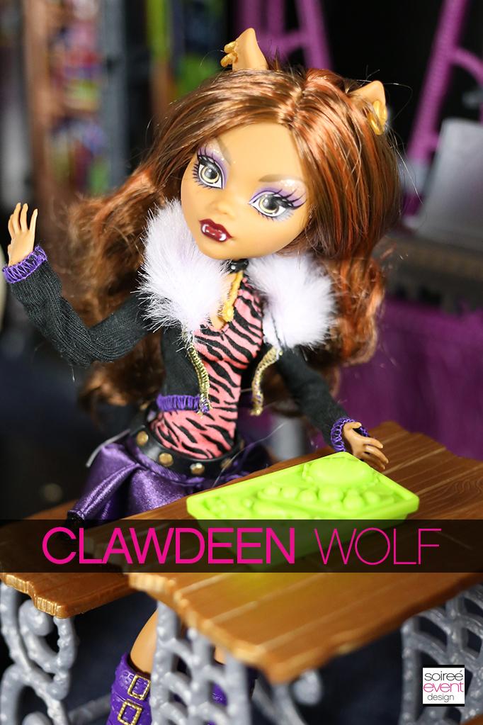 Monster High Dolls - Clawdeen Wolf