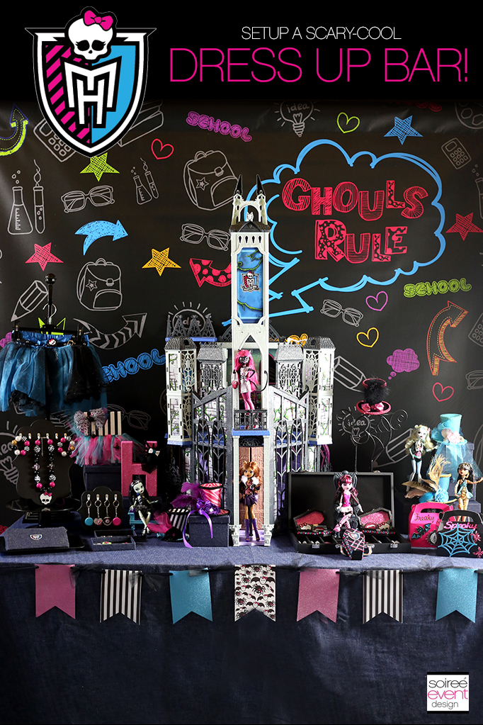 Monster High Party Dress Up BAR