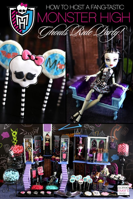 How to Host a Ghouls Rule Monster High Party!