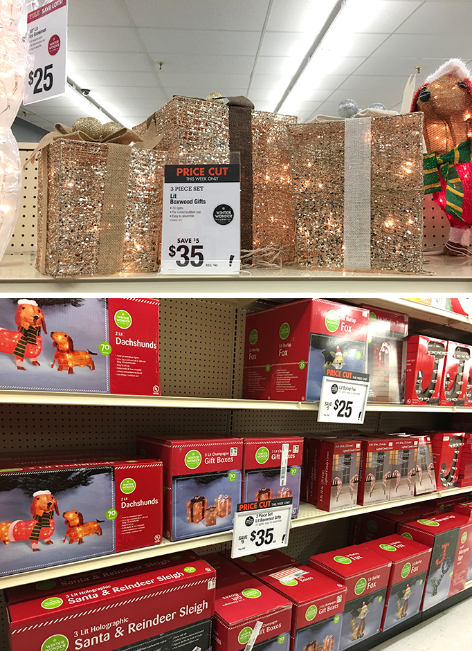 Outdoor Holiday Decor at Big Lots