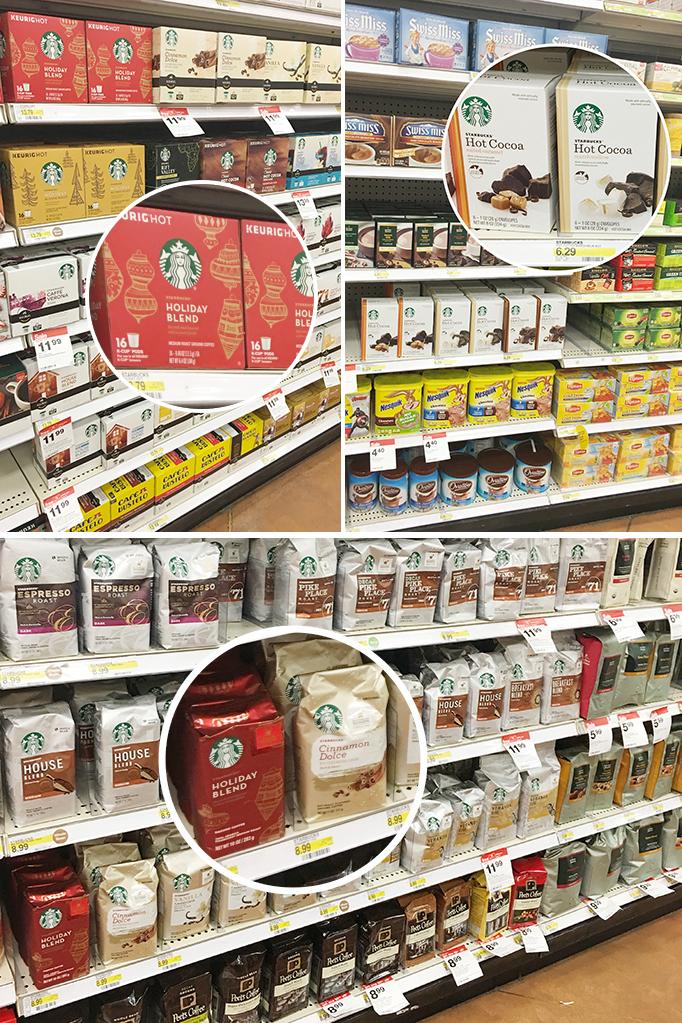Starbucks Coffee in Target