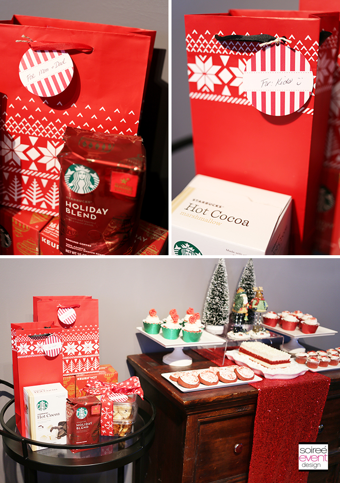 Starbucks Favor Cart