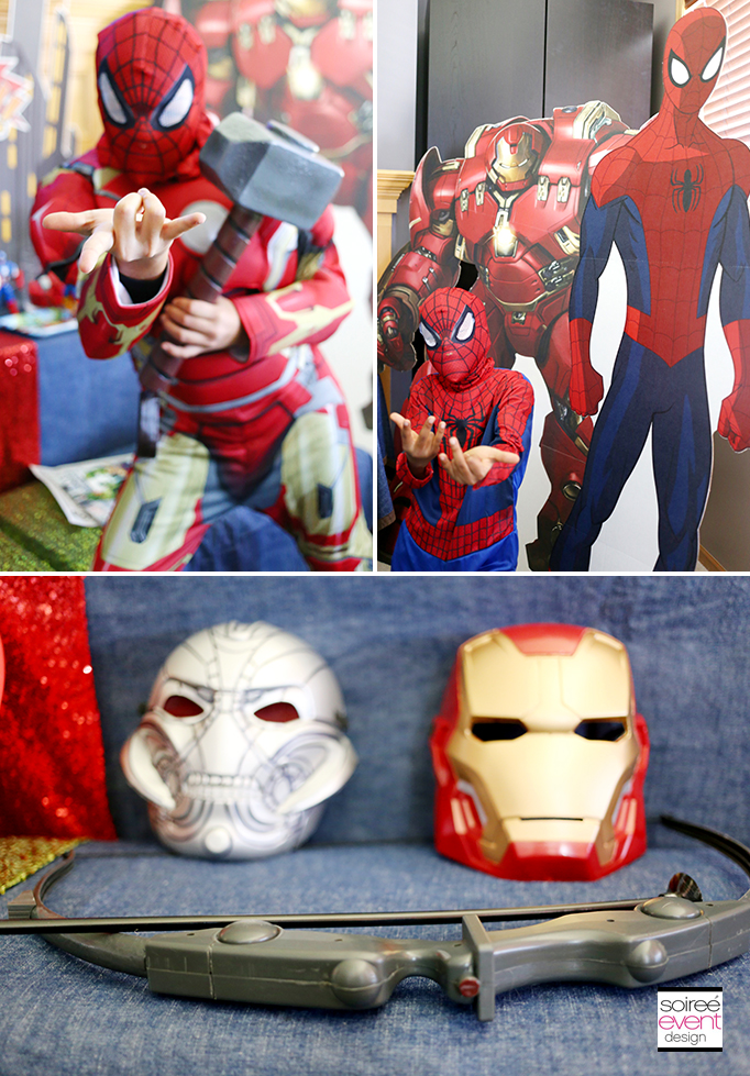 Super Hero Mashers Party costumes