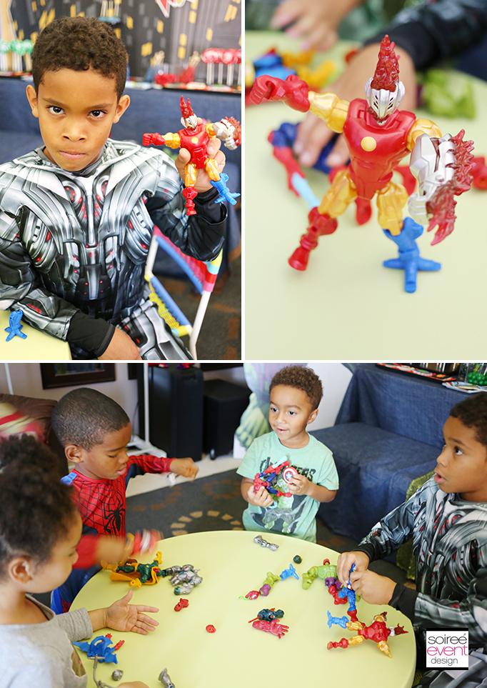 Super Hero Mashers Toys