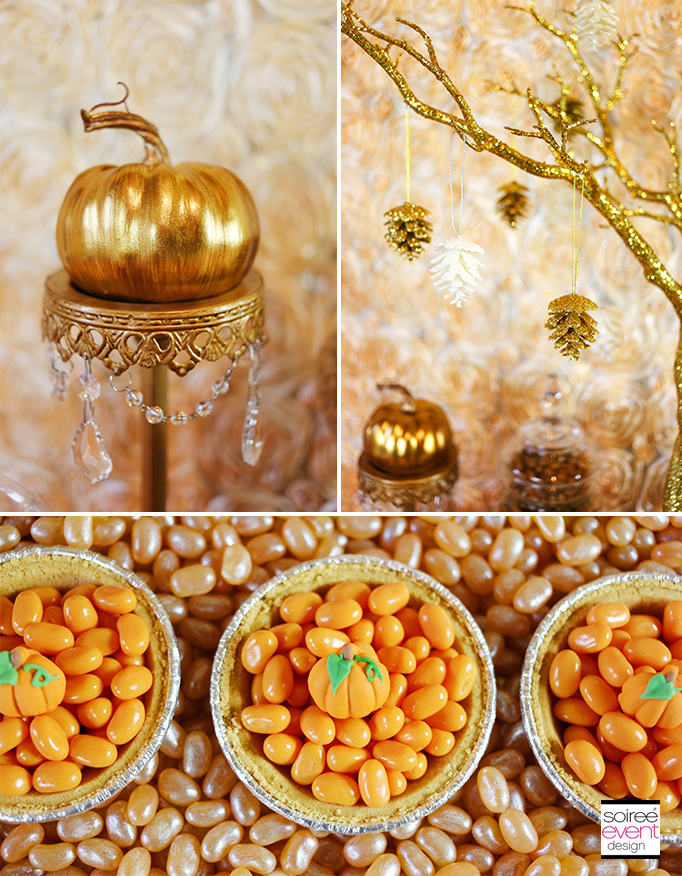 Thanksgiving Gold Decorations
