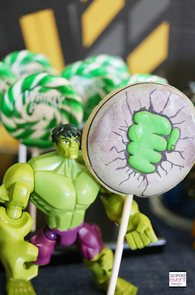 The Hulk desserts